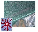 Schutzdecke Rund 150 cm Wasserdicht abwaschbar Tischdecke Transparent Klarsicht Folie Garten Balkon Küche Esszimmer (150 cm)