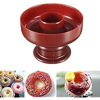 CDXDSV DIY Donut Maker Cutter Molde Fondant Cake Pan Postres Panadería Molde Herramienta