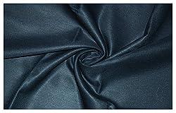 V Walkers Cotton Poly Blend Solid Un-Stitched Trouser Fabric for Men (1.30 MTR_Blue_VST111)
