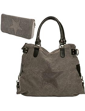 Damen Handtasche Tasche mit Ster