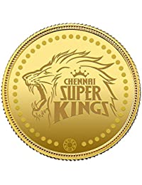 Muthoot Gold Bullion Corporation 24k (999) Chennai Super Kings Limited Edition 4 gm Yellow Gold Coin