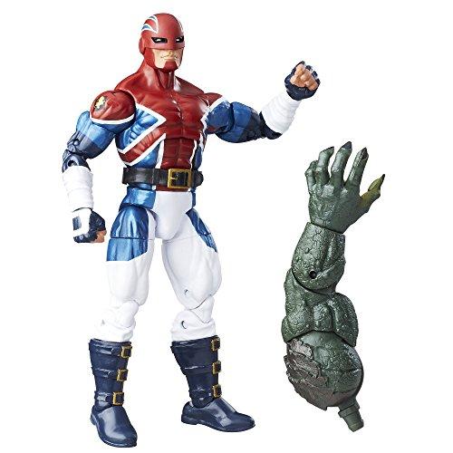 The First Avenger Captain America Marvel Legends: Captain Britain 15cm Action Figur