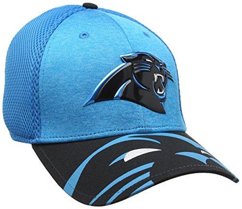 New Era Herren NFL 17 Official On Stage 39Thirty Carolina Panthers Baseball Cap, Blue, Medium -