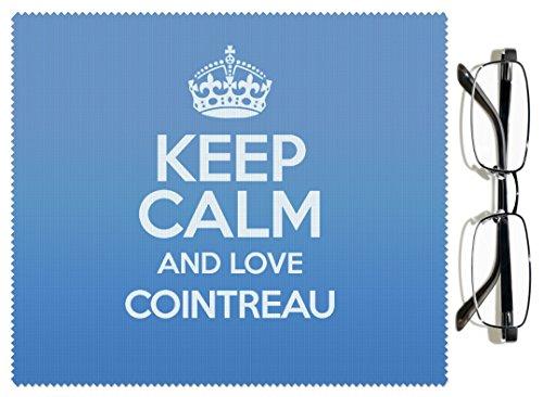 duke-gifts-2338-panno-per-lenti-con-scritta-keep-calm-and-love-cointreau-colore-blu