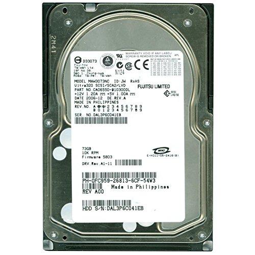 MAW3300NC - FUJITSU HDD 300GB 10K U320 SCSI 80PIN -