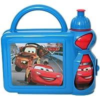 Preisvergleich für Cars Brotdose mit Trinkflasche Set Pausenset Lunchbox Disney