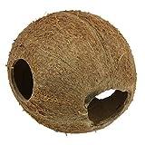 JBL guscio di noce di cocco come grotta per acquari e terrari, Cocos cava