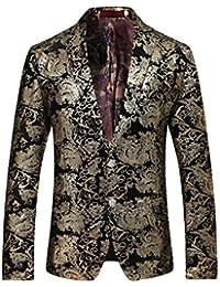 Saoye Fashion Slim Fit Cut Blazer para Hombre Tuxedo Wedding Prom Traje De  Ropa Boda Slim Fit Traje Chaqueta Blazer Party Blazer para… 515a941c43e