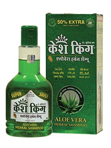Seidig-schuppen-shampoo (Kesh King Aloe-Vera Herbal Shampoo, 300ml)