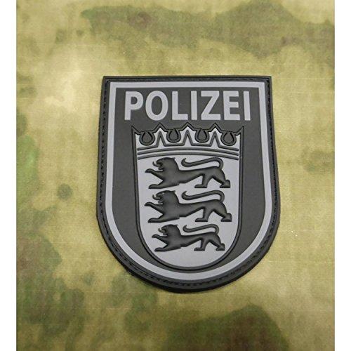JTG Ärmelabzeichen Polizei Baden-Württemberg - Patch, blackops / 3D Rubber Patch (Patches Für Die Polizei)
