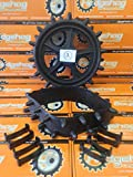Hedgehog Golf Winter Trolley wheel covers studded tyres fits 9-10 inch