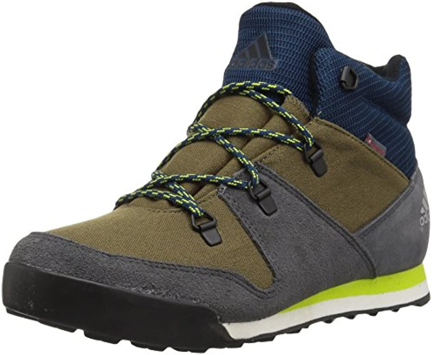 adidas outdoor Unisex-Kids CW Snowpitch Snowpitch Snowpitch K Hiking Shoe, Trace Cargo/Utility Black/Semi Solar Yellow, 11.5 Child... f7c017