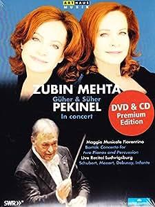 Guher/ Suher Pekinel Concert [Zubin Mehta, Güher Pekinel, Süher Pekinel] [DVD] [2014] [NTSC]