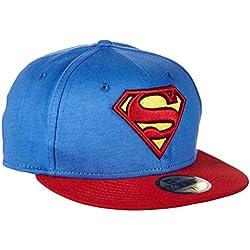 New Era Schirmmütze Superman Character Block 59-Fifty - Prenda, color azul, talla de: 7.75