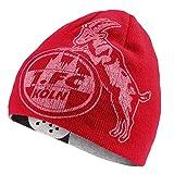 1. FC Köln Wende Beanie Mütze Logo + Dom