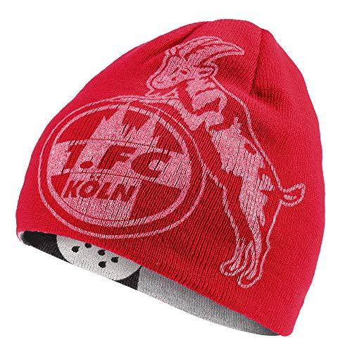 1. FC Köln Wende Beanie Mütze Logo + Dom Logo Beanie-mütze
