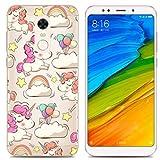 PREVOA Funda para Xiaomi Redmi 5 Plus - Colorful Silicona TPU Funda Case para Xiaomi Redmi 5 Plus Smartphone 5,99 pulgadas - 2