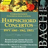 Bach: Harpsichord Concertos, BWV 1060-1062, 1061a (Edition Bachakademie Vol 129) /Levin · Kahane · Rilling