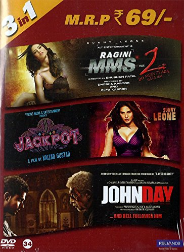 Ragini MMS 2/Jackpot/Johnday (3-in-1)
