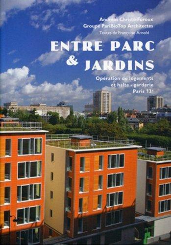 Entre parc et jardins - Opération de logements et halte-garderie, Paris 13e