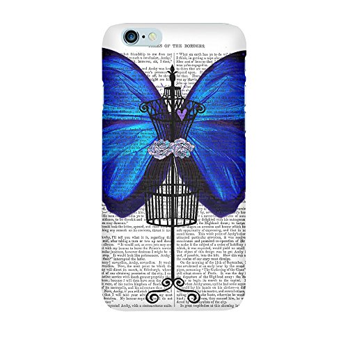 iPhone 4/4S Coque photo - Wing bleu cage