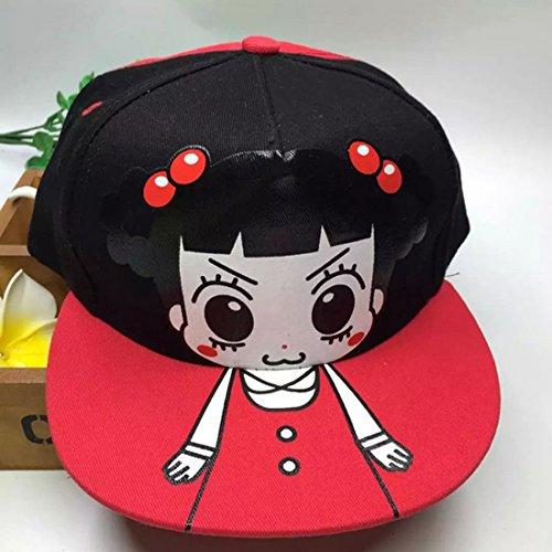 Belsen la fille chapeau unisexe Baseball Cap Noir