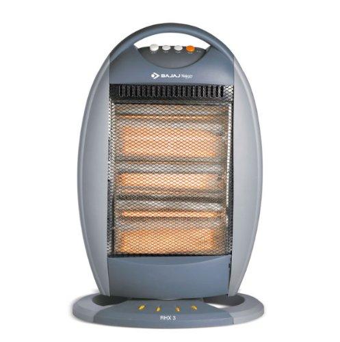 Bajaj RHX 3T 1200-Watt Halogen Room Heater