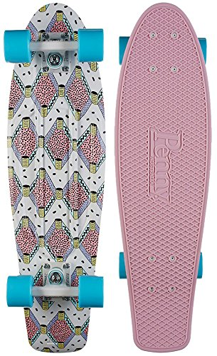 Penny Skateboard Cruiser, Komplett, 27 Zoll 68,6 cm bunt - Buffy (27 In Penny Skateboard)