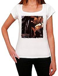 George Michael Faith Melrose Tshirt, T-Shirt Femme, manche courte, cadeau