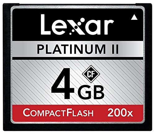 Lexar 4GB Platinum II Compact Flash
