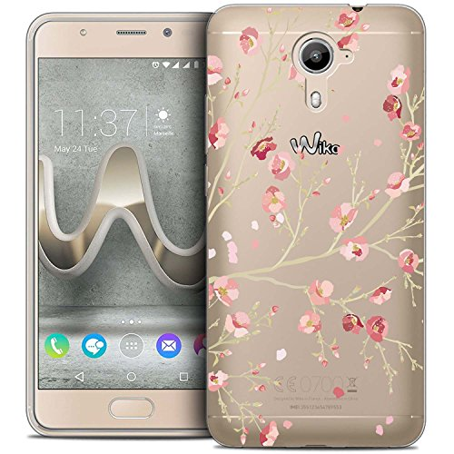 Wiko U Feel Prime Hülle, Langlee Transparent Soft Flex Silikon Schutzhülle TPU Case Crystal Clear Handyhülle Kratzfest Bumper für Wiko U Feel Prime (Design Nr. 11) + Freier Stylus