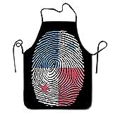 amiuhoun - Delantal de cocina unisex con diseño de bandera de Panamá