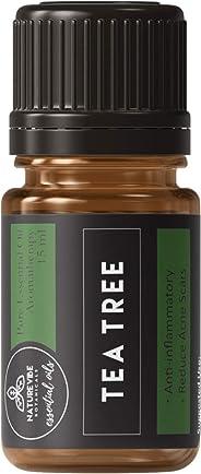 Naturevibe Botanicals Organic Tea Tree Essential Oil - 15 ml | Premium Quality