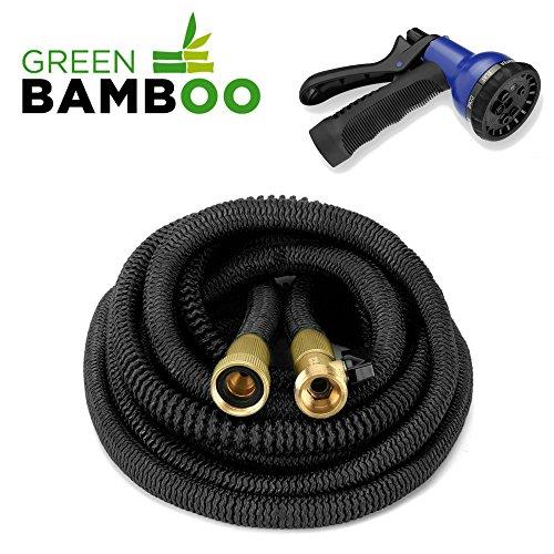 [Green Bamboo] - Tuyau d'Arrosage Extensible &...