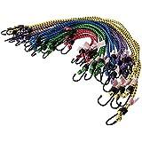 Silverline 759497 - Pack de 20 cuerdas elásticas,  multicolor