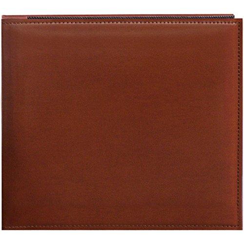 Pioneer 20,3cm von 20,3cm Snapload genäht Kunstleder Memory Book, braun (Pioneer 8x8 Scrapbook Album)