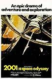 empireposter - 2001: A Space Odyssey - US, Style A - Größe (cm), ca. 67x100 - Poster, NEU - Beschreibung: - Filmposter Kino Movie XXL-Poster 2001 Odyssee im Weltraum Sci Fi -