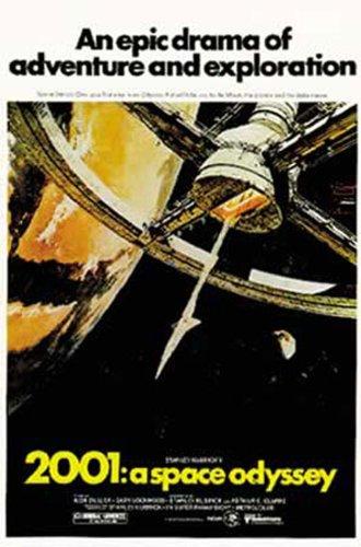 empireposter - 2001: A Space Odyssey - US, Style A - Größe (cm), ca. 67x100 - Poster, NEU - Beschreibung: - Filmposter Kino Movie XXL-Poster 2001 Odyssee im Weltraum Sci Fi - (Kult Poster)