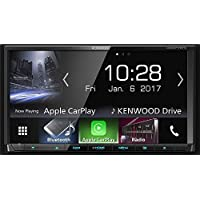 "Kenwood Electronics DDX9717BTS Bluetooth Negro receptor multimedia para coche - Radio para coche (4.0 canales, FM,LW,MW, 17,8 cm (7""), 800 x 480 Pixeles, LED, Negro)"