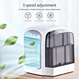 Baiwka Mini Air Cooler Portable Air Conditioner Fan,Small Space Cooler Personal Air Cooler,Personal
