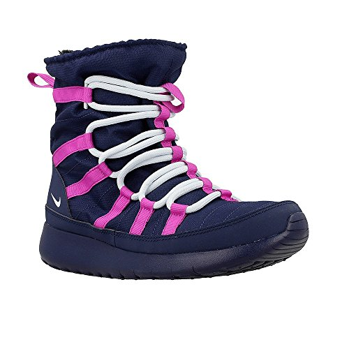 Nike 807758-407 Scarpe sportive , Bambine, Blu (Midnight Navy / Blue Tint / Hyper Violet), 38 EU (5 #Adult UK Girls )