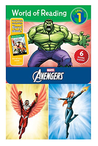 World of Reading Avengers Boxed Set: Level 1 [With E Books] (Marvel The Avengers: World of Reading, Level 1)