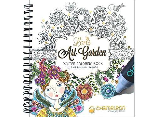 Loris Art Garden Coloring Book