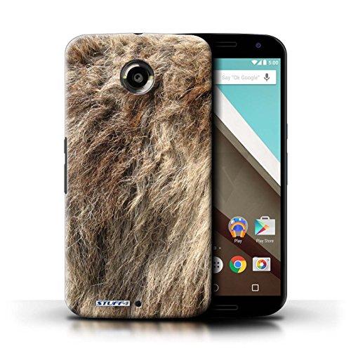 Kobalt® Imprimé Etui / Coque pour Motorola Nexus 6 / Tigre conception / Série Motif Fourrure Animale Loup