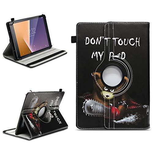 na-commerce Tablet Schutzhülle Vodafone Tab Prime 6/7 360° Drehbar Tasche Cover Case Etui, Farben:Motiv 9