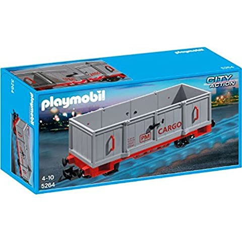 PLAYMOBIL 5264 Le wagon du train de marchandies