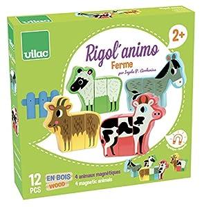 Vilac Vilac7702 - Juego de Animales de Granja magnéticos