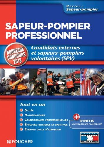 Sapeur-pompier professionnel Nouveaux co...