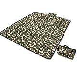 "hemeraphit camuflaje alfombrilla de Picnic manta impermeable portátil de viaje senderismo Camping Mat Soft Baby Crawling Mat, 70""x60"""