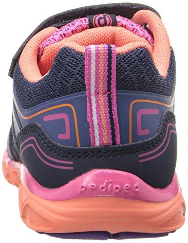pediped Force, Chaussures de Running Compétition fille Bleu (Navy Coral)